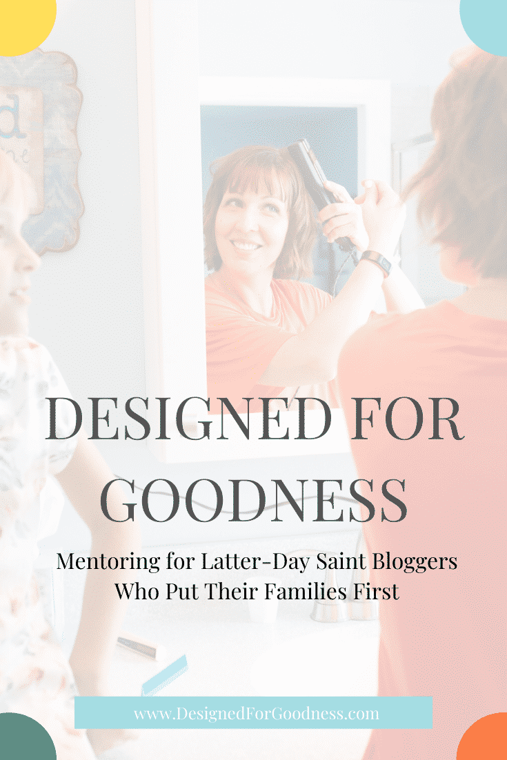 Earn ethical income as a latter-day saint blogger while still giving your best to your family.  God designed you to share His Goodness!
