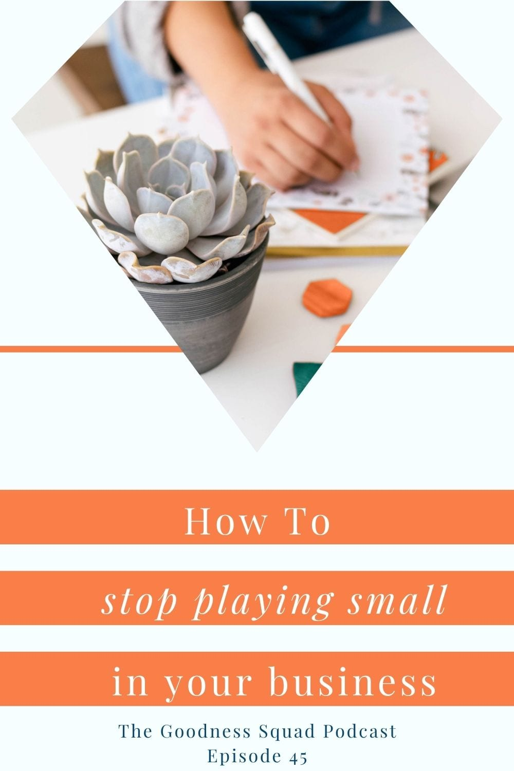 045_Stop playing small with michelle from the waiting warrior